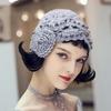 EAM-2019-Printemps-t-Femme-l-gant-Nouvelle-Annonce-Solide-Couleur-Tricoter-Spliced-Imitation-Perle