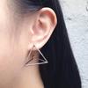 Vente-1-paire-Punk-Simple-G-om-trie-Triangle-Boucles-D-oreilles-Goujons-Mode-Bijoux-Cadeau