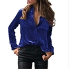 MLLE-M-Automne-Casual-Femmes-Blouse-Tournent-Vers-Le-Bas-Chemise-Manches-Longues-Velours-Blusas-Shirt
