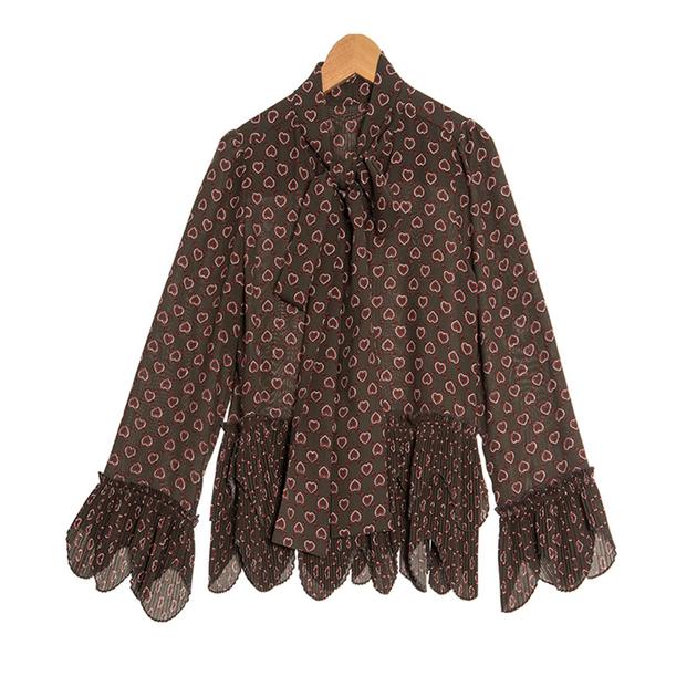 Nouveaut-Vintage-Femmes-Blouses-2018-Pleine-de-Douille-de-Fus-e-De-Mode-Arc-Col-de