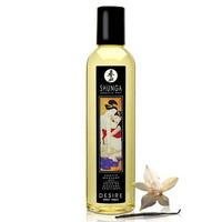 Huile de massage shunga vanille désire