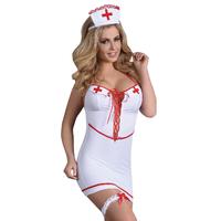 Tenue infirmière sexy 4 pièces.