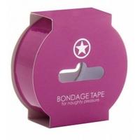 Bondage tape rose 17.5M
