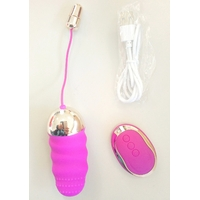 Oeuf langue vibrant télécommandé fushia USB