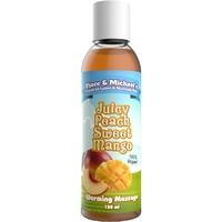 Huile de massage chauffante mangue pèche 150 ML