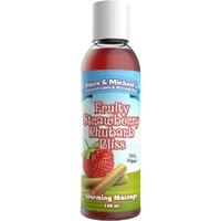 Huile de massage chauffante fraise rhubarbe 150 ML