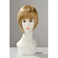 Perruque courte blonde Berangère