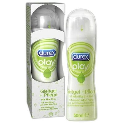 Lubrifiant gel Durex Aloé vera 50Ml
