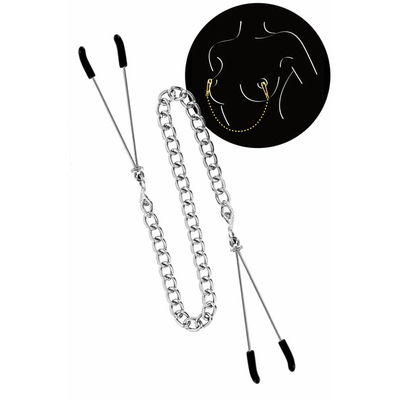 Chaine pinces seins SWEET CARESS
