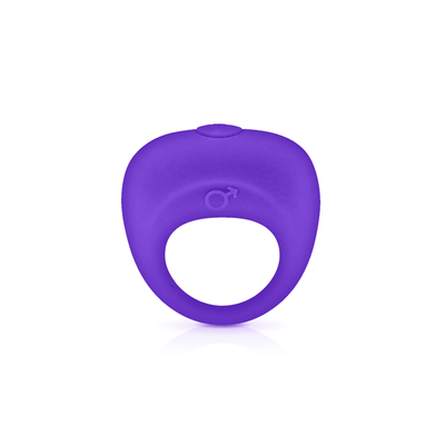 Cockring vibrant silicone GLAMY violet