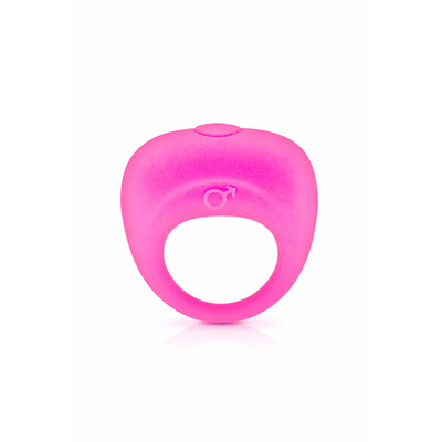 Cockring vibrant silicone GLAMY rose