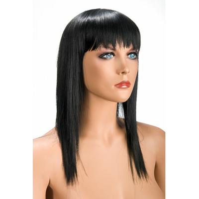 Perruque brune longue Alison