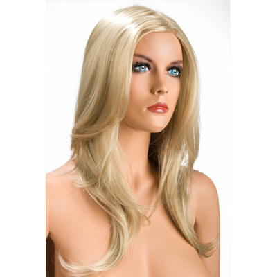 Perruque blonde longue Olivia