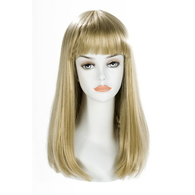 Perruque blonde longue China-Doll