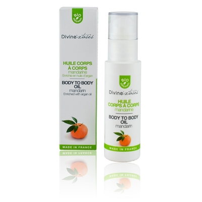 Huile corps à corps mandarine DIVINEXTASES 100Ml