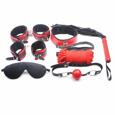 Kit accessoires SM 7 pièces rouge et noir