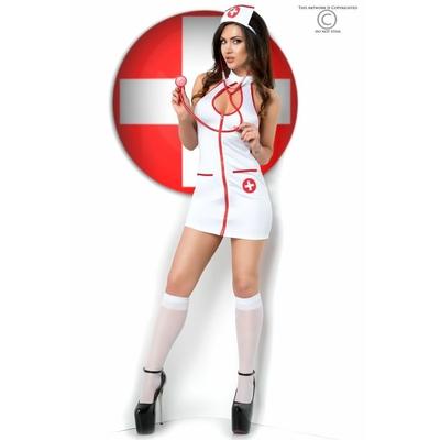 """Déguisement infirmière 5 pièces """"Chilirose"""""""