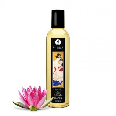 Huile de massage AMOUR coeur de lotus