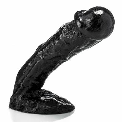 Gode XXL Jack noir 22 cm