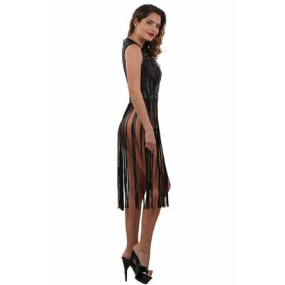 robe-noire-longue-a-franges-profil-20012