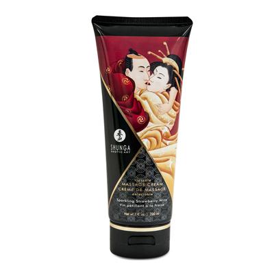 Crème de massage fraise SHUNGA 200 ML