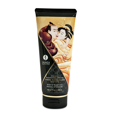 Crème de massage amande douce SHUNGA 200 ML