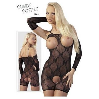 Combinaison courte ouverte seins.