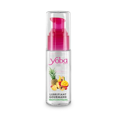 Flacon de lubrifiant lechable fruits exotics 50ml Yoba