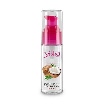 Flacon de lubrifiant lechable noix de coco 50ml Yoba
