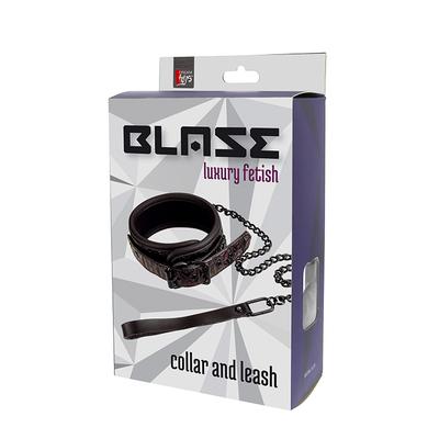 collier laise cuir avec chaine blaze-2