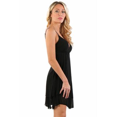 robe-courte-noire-spazm-9604-profil