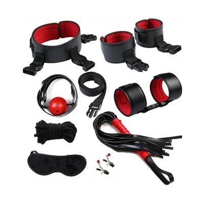 Kit Eye-Splice Noir-Rouge 8 pièces