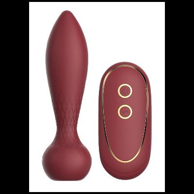 Plug silicone vibrant télécommandé romy dream toys