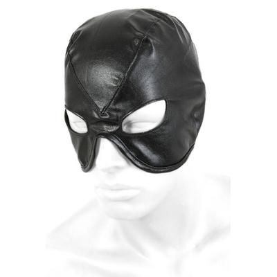 Demi masque en simili cuir