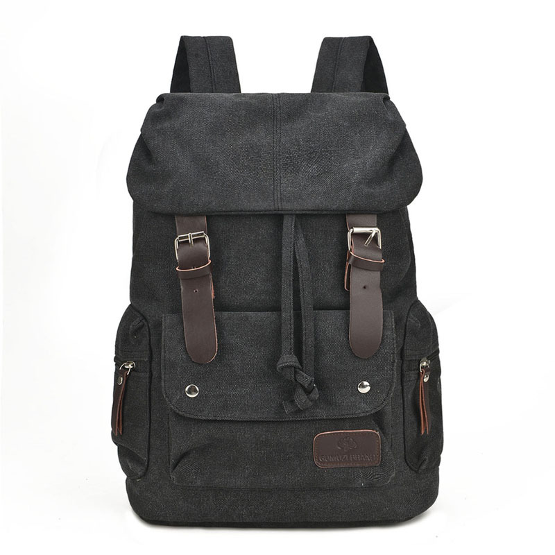 New-Men-Backpack-Canvas-Backpack-Bags-College-Student-Book-Bag-Large-Capacity-Fashion-Backpack-15-Inches