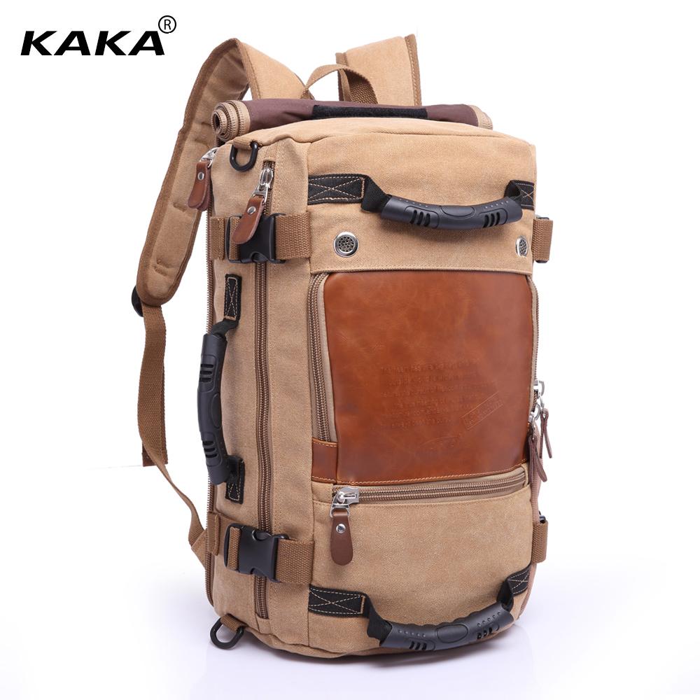 KAKA-Marque-l-gant-Voyage-Grande-Capacit-Sac-Dos-M-le-Bagages-paule-Sac-Ordinateur-Randonn