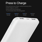 ROCK-Slim-10000-mAh-Power-Bank-Portable-Ultra-thin-Polymer-Powerbank-battery-power-bank-10000mah-With