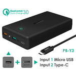 AUKEY-30000mAh-Power-Bank-Portable-Charger-Quick-Charge-3-0-Powerbank-External-Battery-Pack-for-iPhone