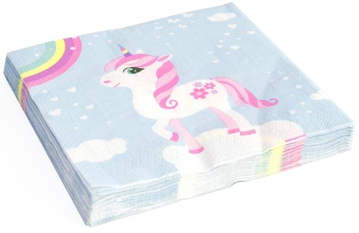 20-serviettes-en-papier-licorne-arc-en-ciel-33-x-33-cm