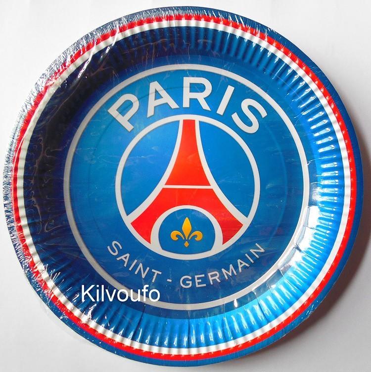 6 Assiettes Paris Saint Germain