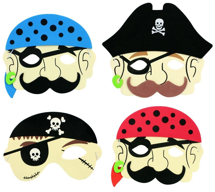 Masque Enfant Pirate Mousse