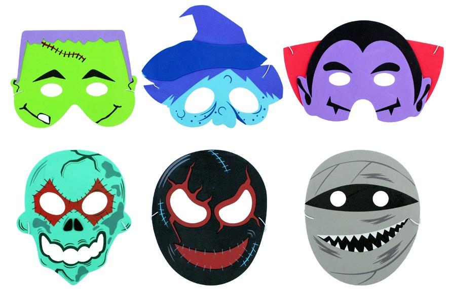 Masque Enfant Halloween Mousse