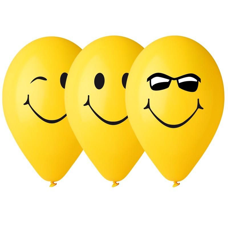 10 Ballons Smile