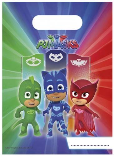 6 Pochettes Cadeaux PJ Masks