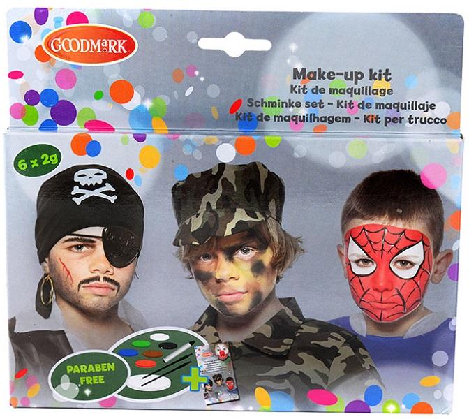 Kit Maquillage à l\'eau Garçon