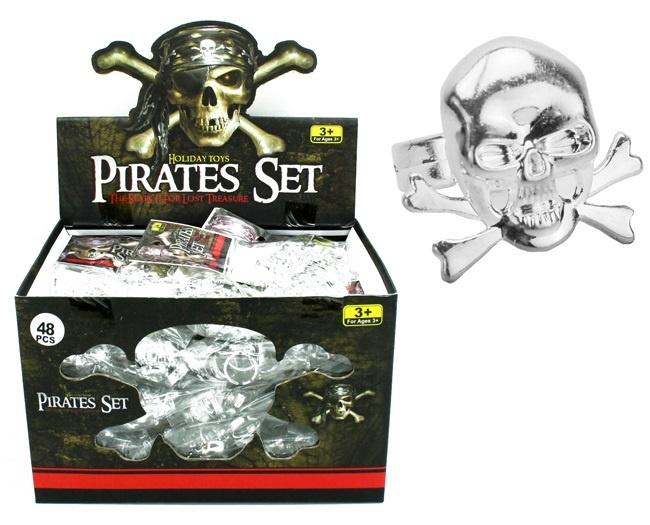 6 Bagues de Pirates