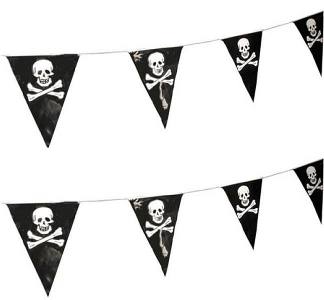 Guirlande Fanions Pirates