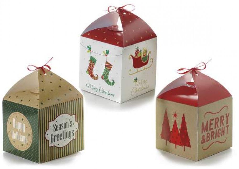 Boîte cadeau de Noël pour arbre de Noël
