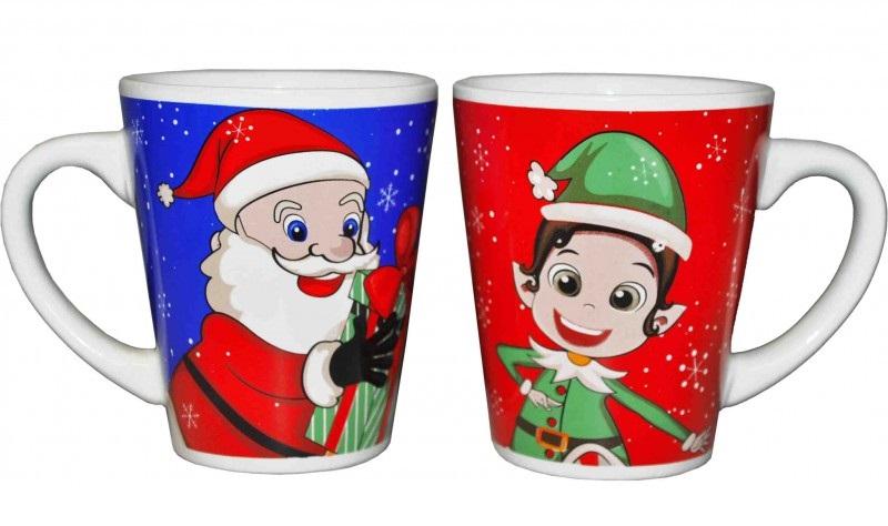Mug Père-Noël ou Lutin