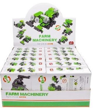Jeu Brique Construction Tracteur